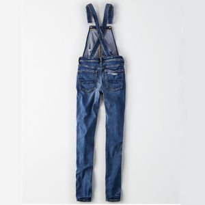 American Eagle Outfitters Jeans - American Eagle Denim X Jegging Dark Wash Overalls